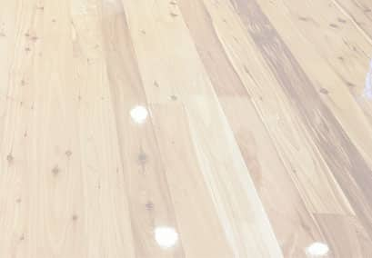 Close-up of a sanded and polished floor.