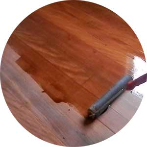 Recoating timber floors