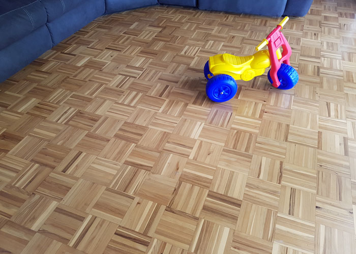 Kids toy on timber floor