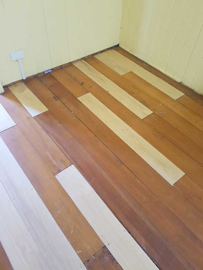 Timber Floorboards replaced