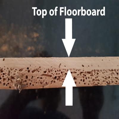 wooden floor borers