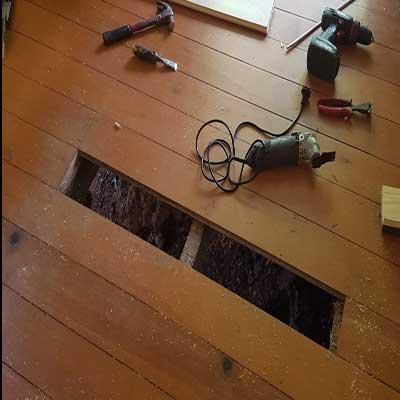 Repairing timber floors