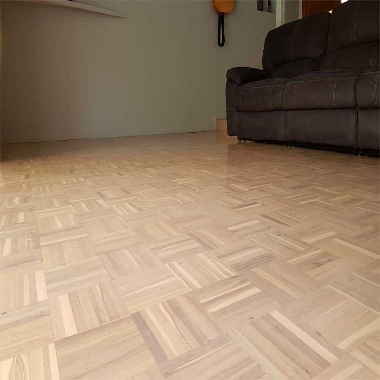 Whitewash parquetry Timber floor