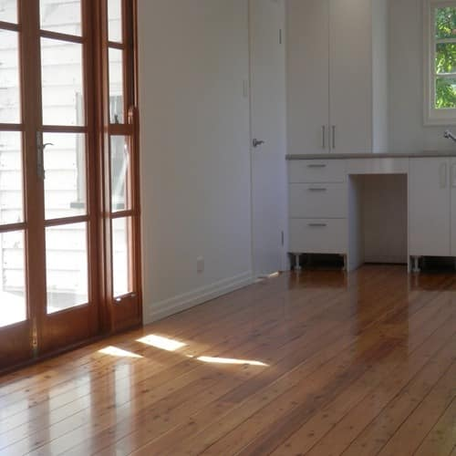 Polished wooden floors Brisbane